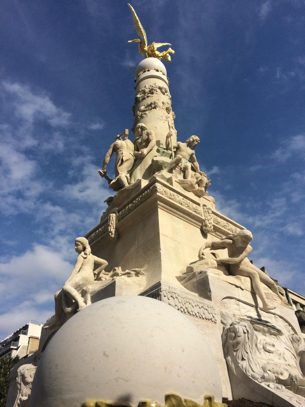 Rénovation de la fontaine Subé à Reims