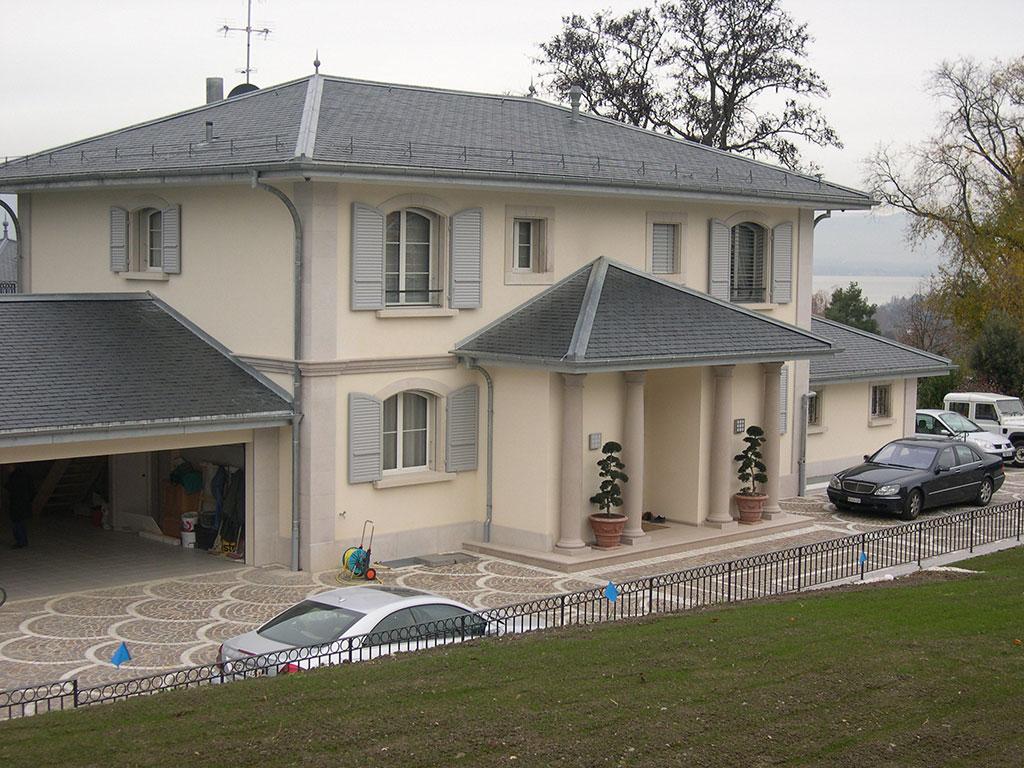 Pierre de taille villa