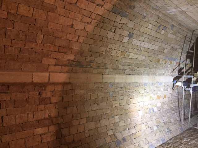 SETP Fort des Rousses mur plafond