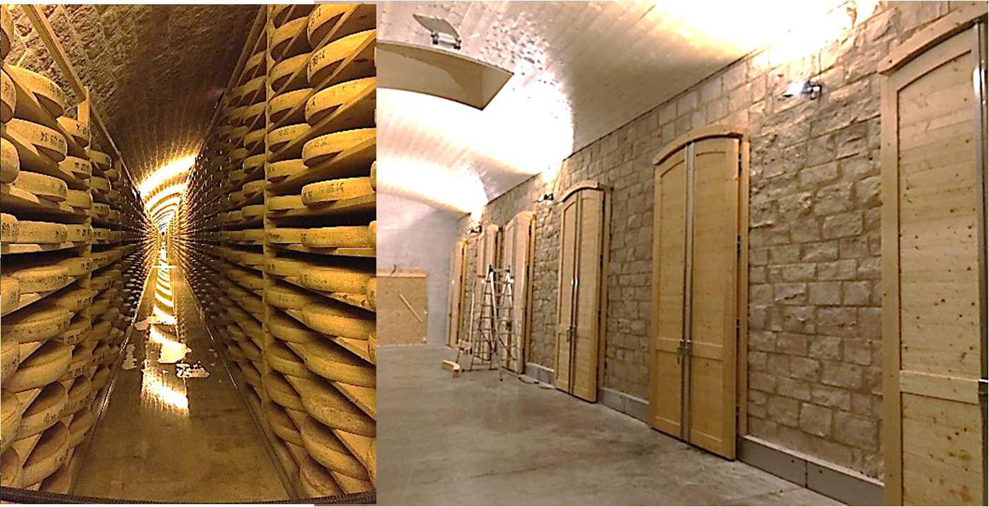 SETP Fort des Rousses caves