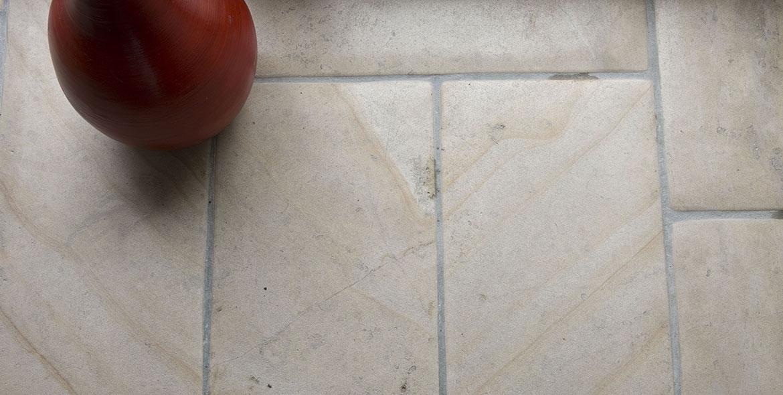 Dallage en pierre de Beaunotte aspect antique