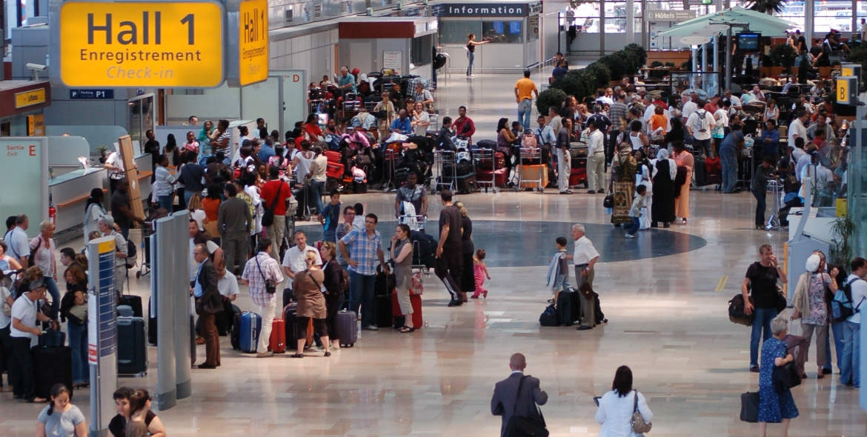 Dallage aéroport de Marseille