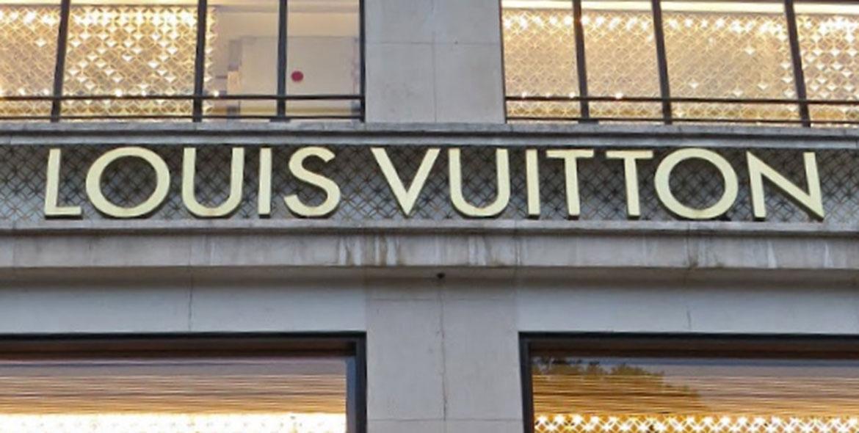 Façade Louis Vuitton sur les Champs-Elysées