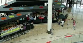 Centre commercial des 4 temps - La Défense - pierre de comblanchien